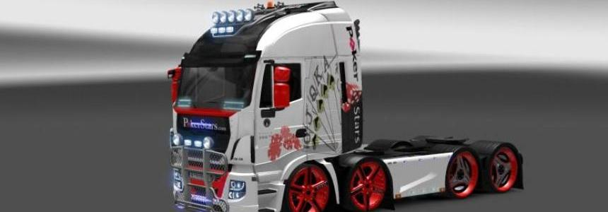 Iveco HI-WAY Pokerstars skin