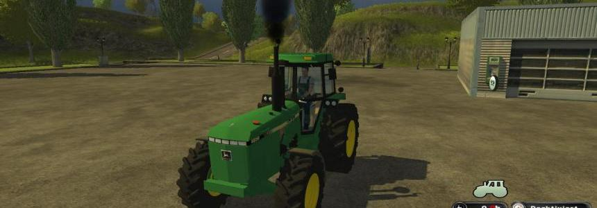 John Deere 4850 Straight Pipe  v1