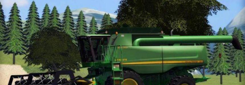John Deere 9770STS & Honeybee MR 1.0