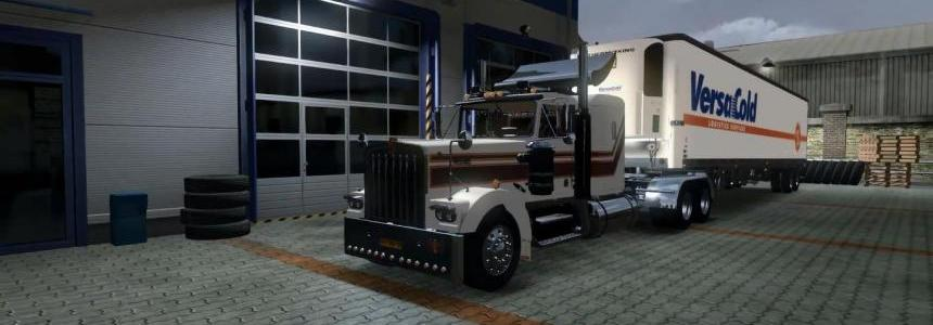 Kenworth W900aRC + American Trailer Pack