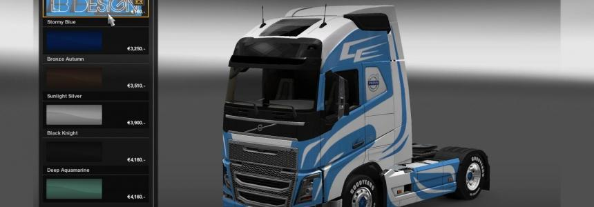 LB Design skin for Volvo FH 2012