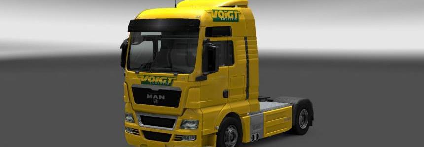 MAN TGX Voigt logistics Skin