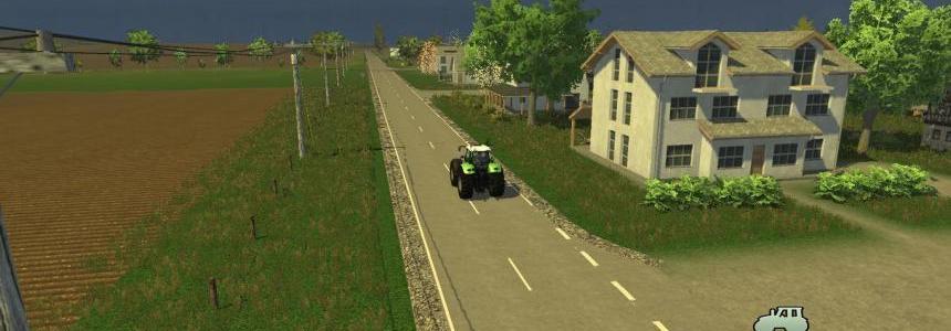 Modern American Farming Map v1.0