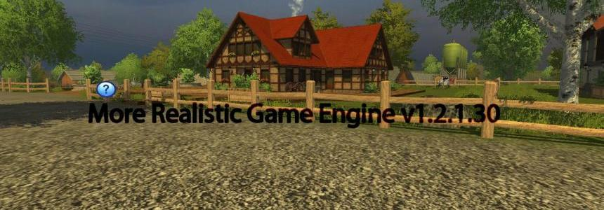 More Realistic Game Engine v1.2.1.30
