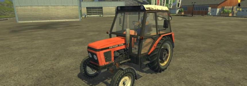 MR Zetor 7711 Updated Version
