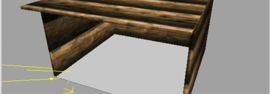Old wooden shelter v1.0
