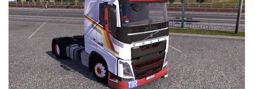 On the move for Volvo FH 2012 Skin