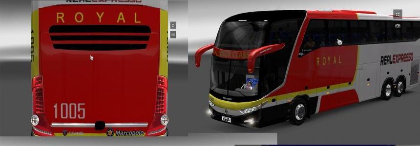 Onibus G7 1600 Skin Pack