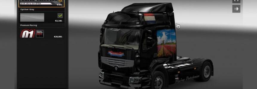Renault Premium Holland Skin