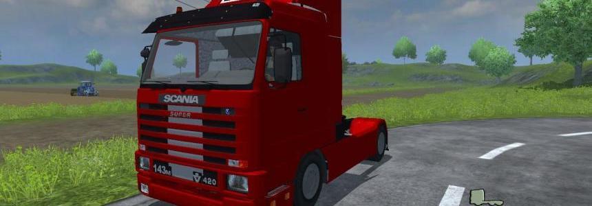 Scania 143m 420 V8 v1.0