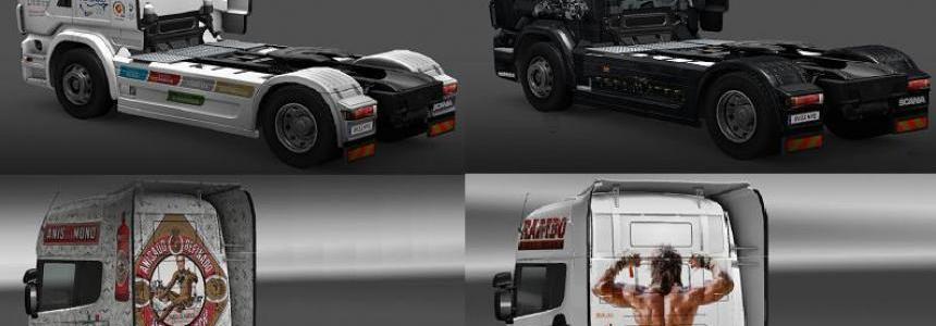 Scania 4 Skin Pack