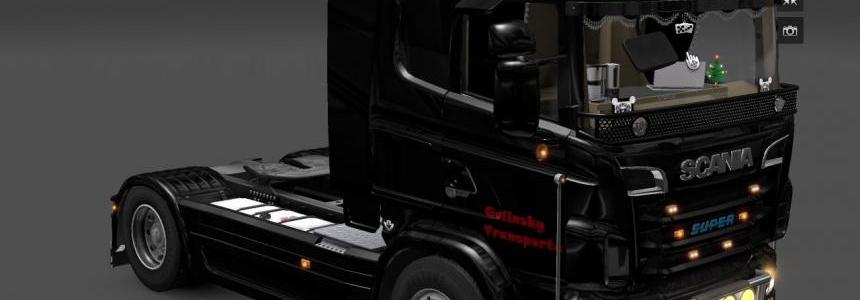Scania Black Bitch skin