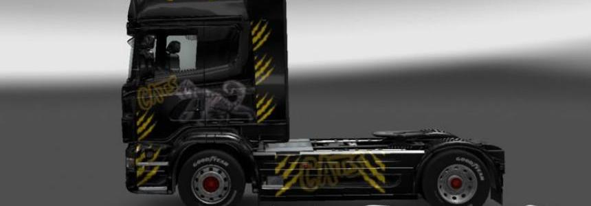 Scania Cats skin v1.0