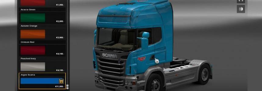 Scania R Argos Skin