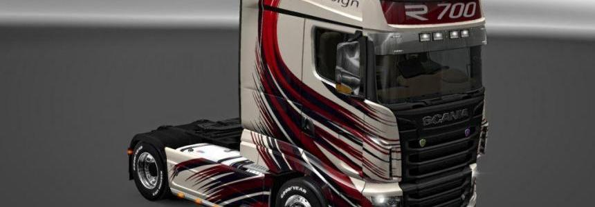 Scania R700 MT Design skin