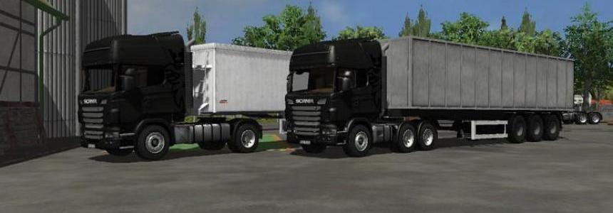 Scania R730 Topline v1.0 Black
