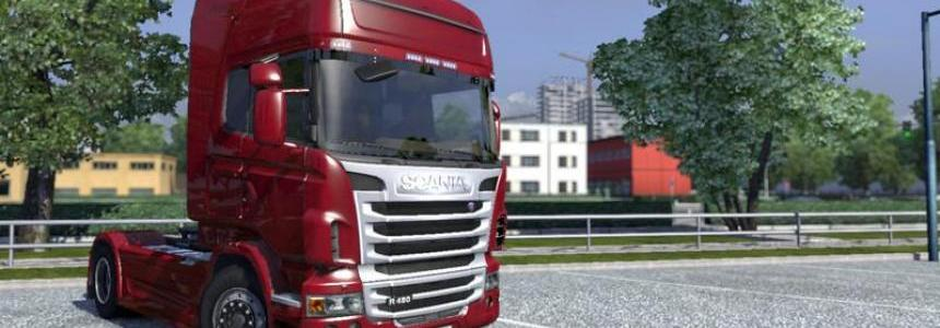 Scania Silver Grill v1.0