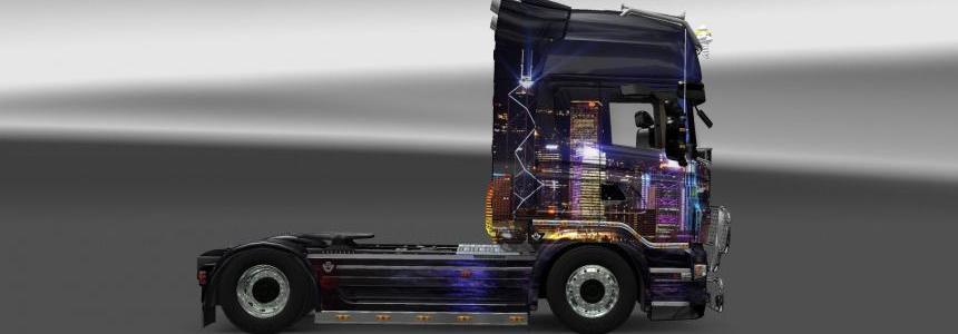 Scania Skin Skyline