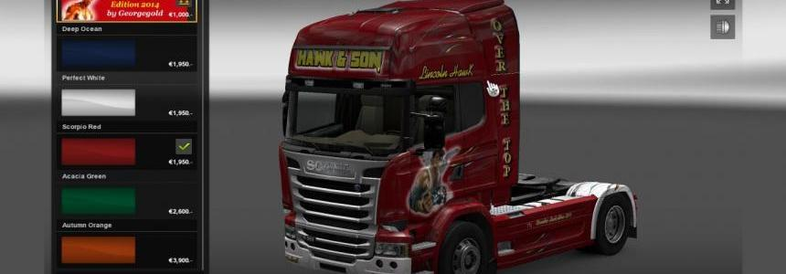Scania Streamline Hawk Edition 2014
