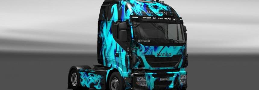 Skin Iveco Hi-Way Green Smoke