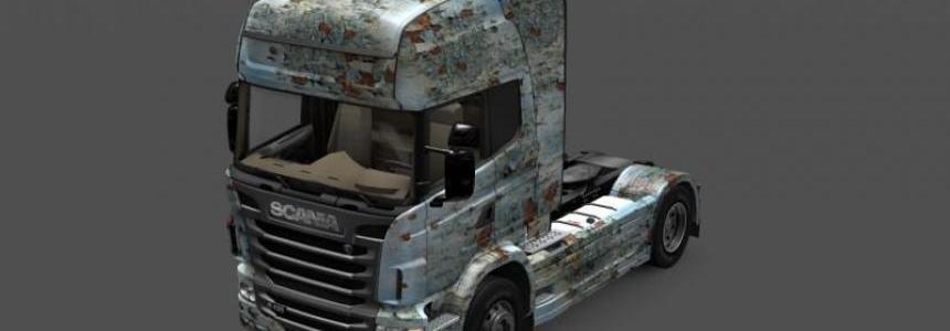 Skin Otelo Pintura Vieja Scania R2009 Cab A