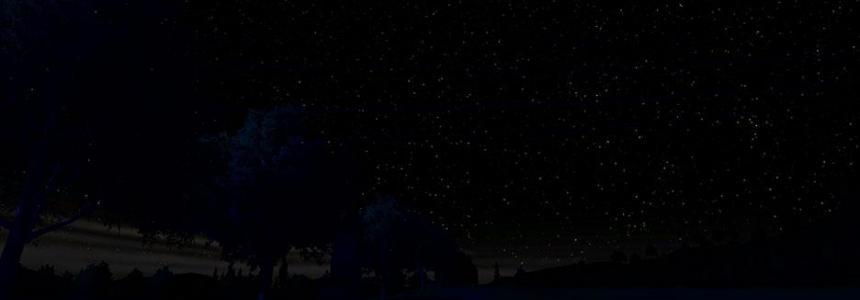 Starry Night Sky for Darker night mod