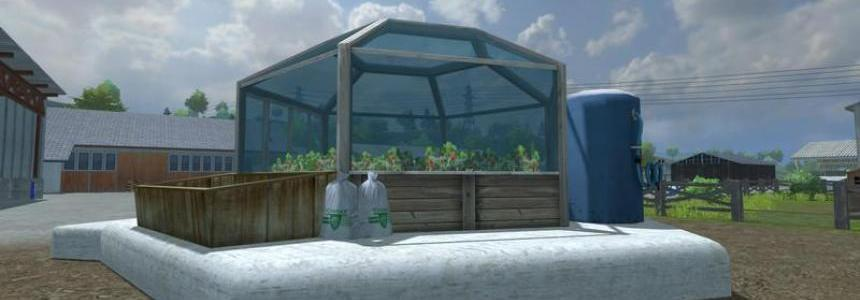 Strawberries greenhouse v1.0