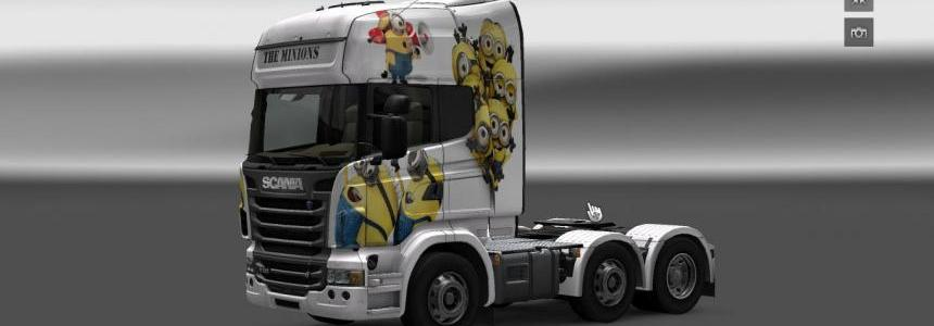 The Minions skin for Scania R