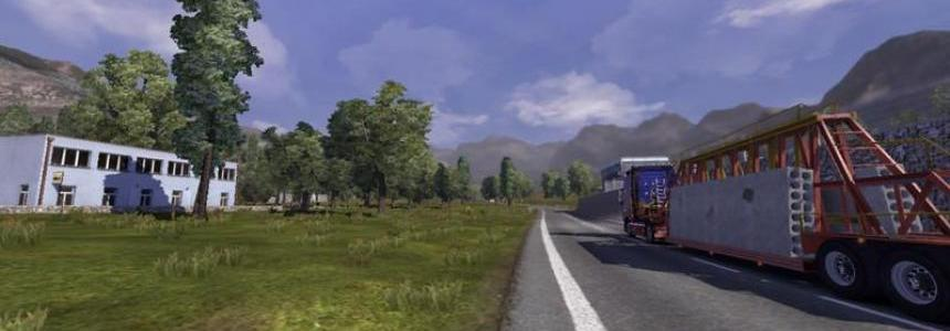 Trucksim Map v4.5.5a