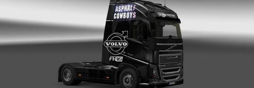 Volvo Asphalt Cowboys Skin