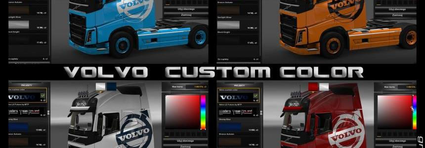 Volvo custom color
