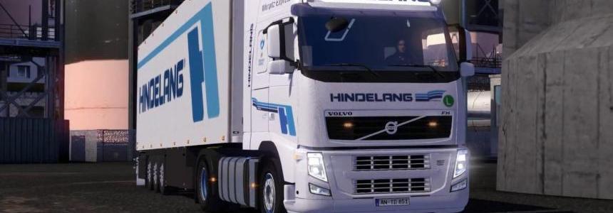 Volvo FH Hindelang + Trailer + Addons