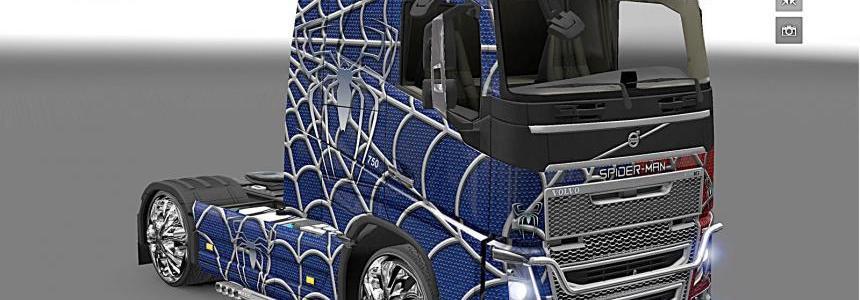 Volvo FH2013 Spider-man skin