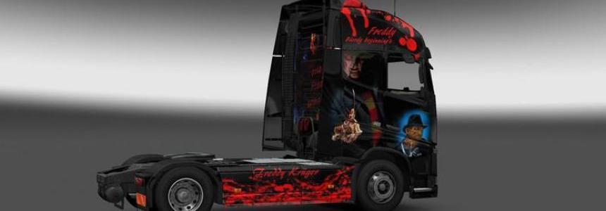Volvo Freddy Krueger Skin