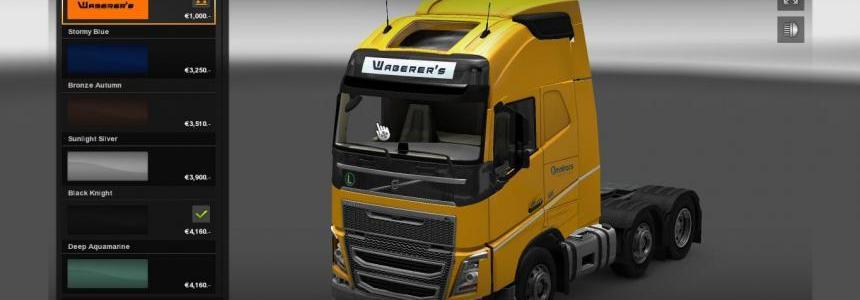 Volvo Waberer's skin