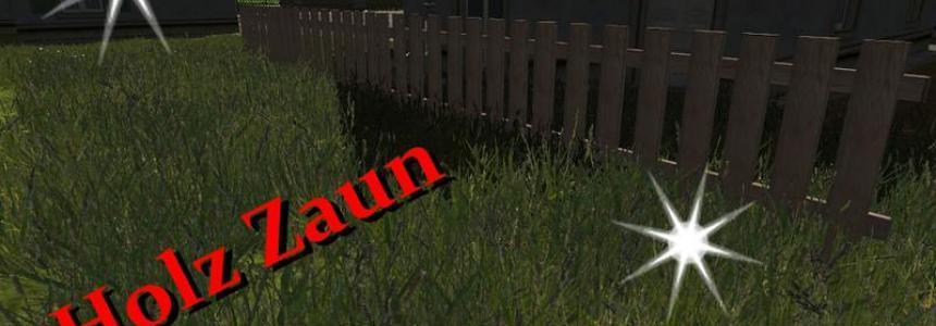 Wooden fence v1.0