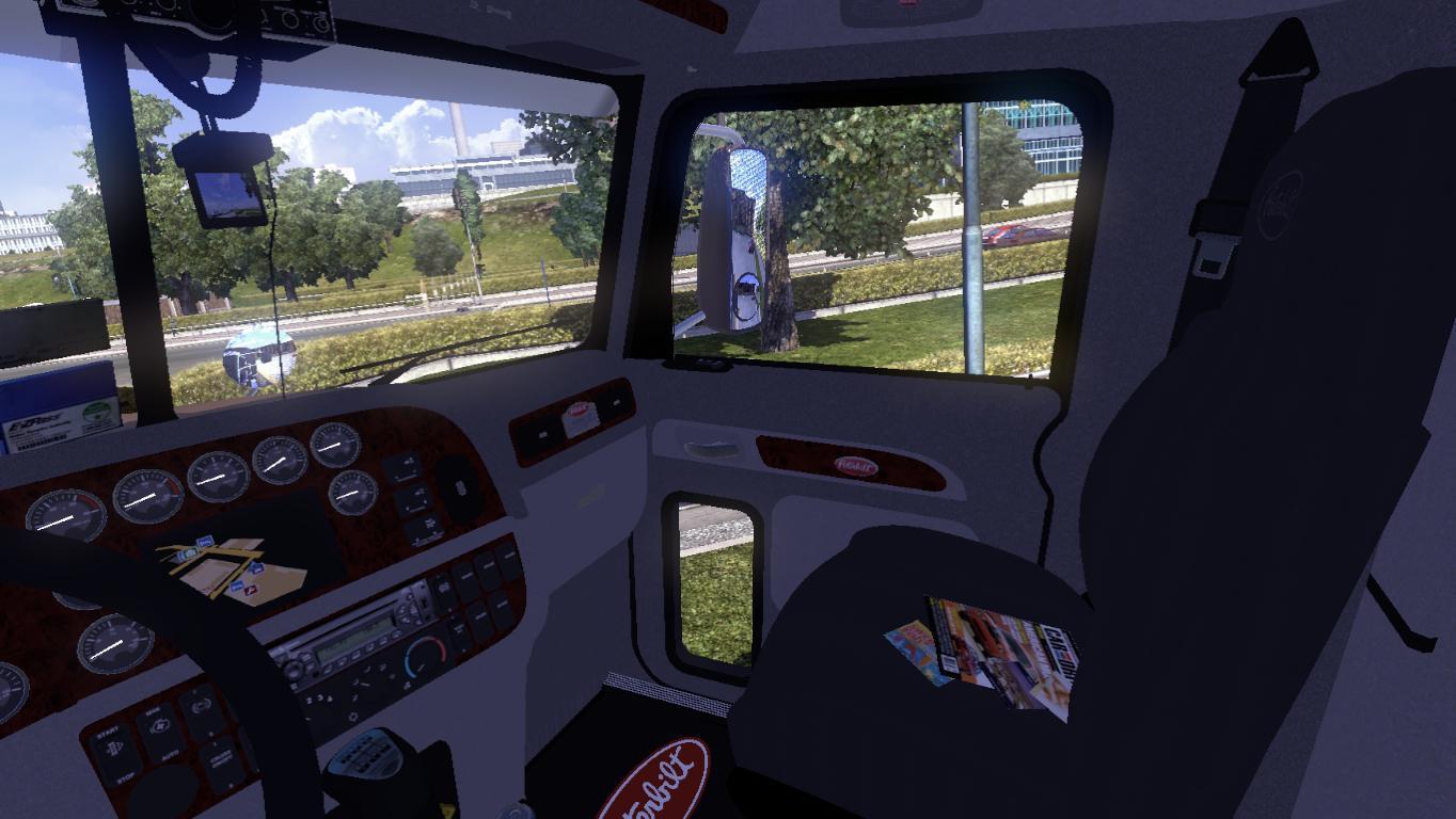 Peterbilt 386 Interior V1 0