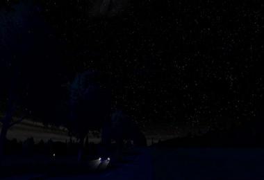 Starry Night Sky for Darker night mod