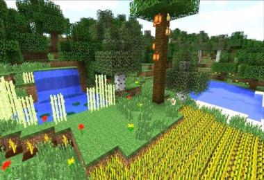 Waving Plants Shaders Mod 1.7.4
