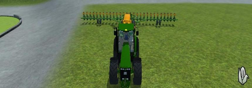 Amazone 28 row all crop planter