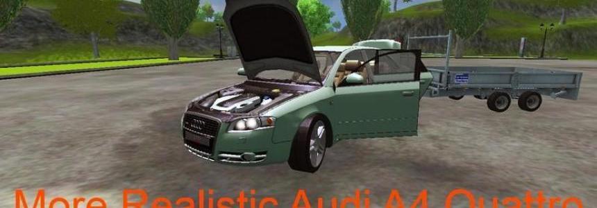 Audi A4 Quattro towbar v1.1 MR