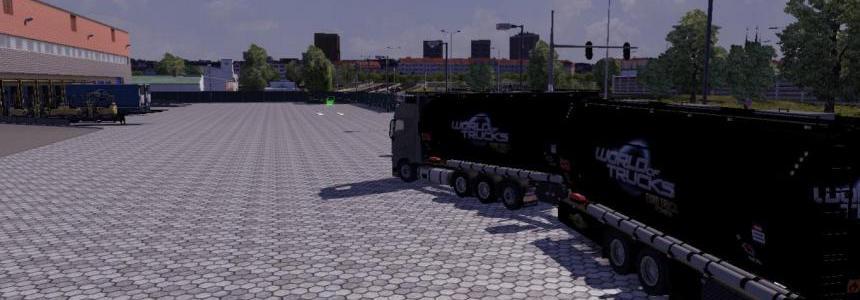 BDF Tandem Truck Pack WOT Black Skin