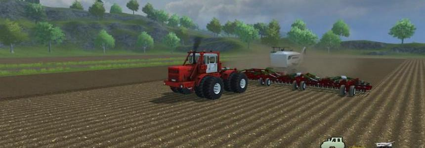 Bourgault Seeding fertilization system v1.1