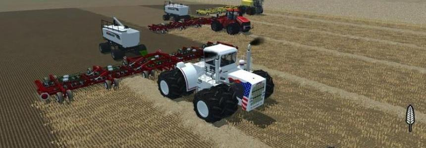 Bourgault Seeding fertilization system v1.1.1