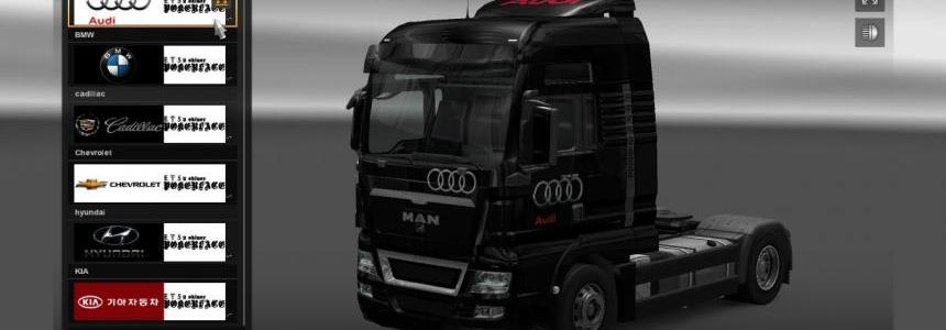 Car Company truck & trailer skin pack