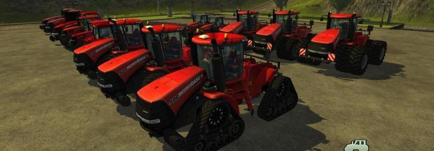 Case tractors pack