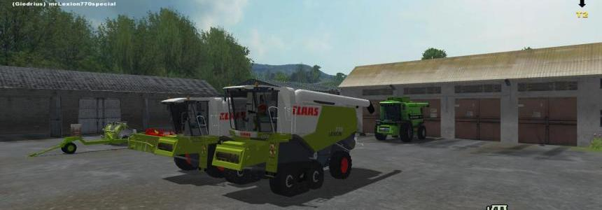 Claas Lexion 770 v3.0 More Realistic
