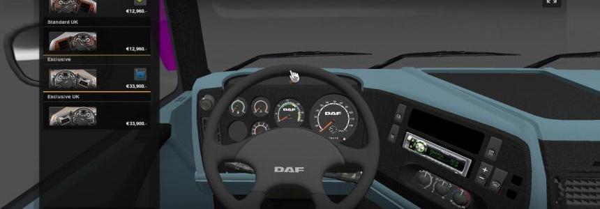 DAF 95XF interior
