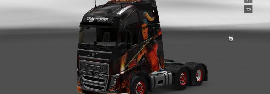 Diablo II skin for Volvo 2012