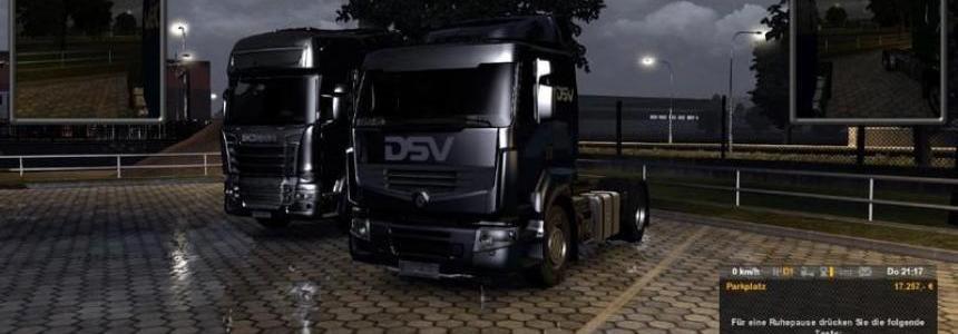 Euro Truck Simulator Modern Pack v1.1